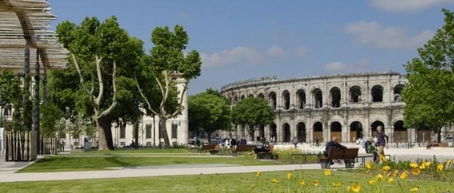 La ville de Nîmes concourt pour paraître au patrimoine de l'Unesco.